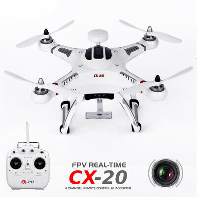 CX-20 RC Drone Quadcopter GPS FPV w/ Camera 6 Axis Gyro Helicopter Kids Toy BP