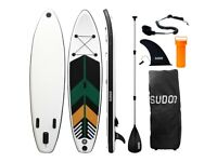 10ft Inflatable Stand-Up Paddle (SUP) Board Set - Summer Final Mega Sale