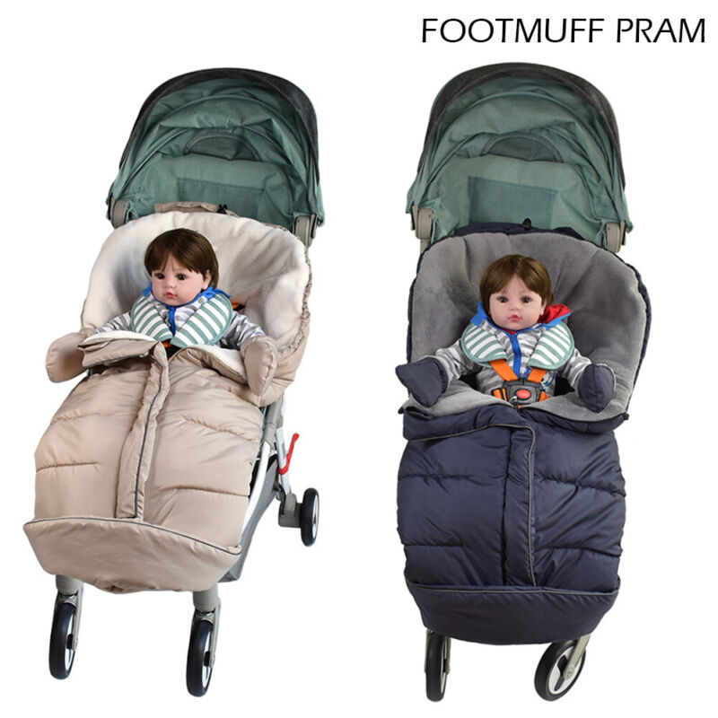 Universal Footmuff Pushchair Baby Cosy Toes Toddler Buggy Stroller Pram Long