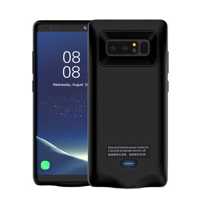 Power Bank Body External Battery Charging Case 5500mAh for Samsung Galaxy Note 8