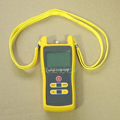 -50 To 26dbm Digital Optical Power Meter Laser Fiber Optic Tool Tester Jw3208