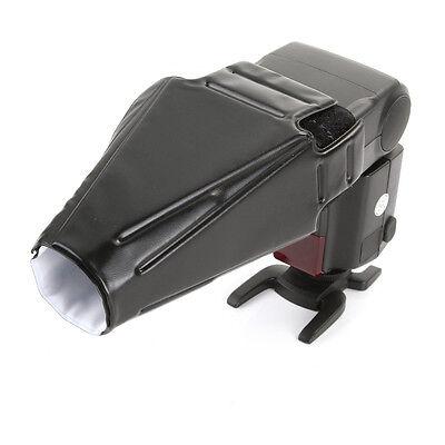 Foldable Flash Reflector Snoot Speedlite Softbox Diffuser Beam Reflective (Flash Snoot)