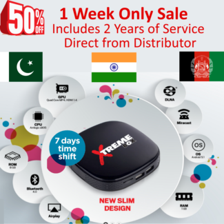 $199 2 Year Pack. Indian & Pakistan Afghanistan and Arabic Iptv