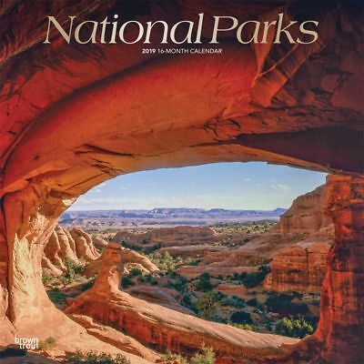 2019 National Parks Wall Calendar, National Parks by BrownTrout