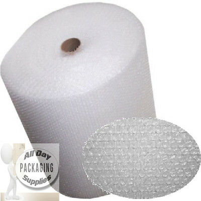 6 ROLLS OF BUBBLE WRAP SIZE 750mm (75cm) HIGH x 100 METRES LONG SMALL BUBBLES