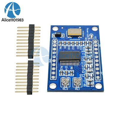 Ad9850 125mhz Dds Signal Generator Module 0-40mhz 2 Sine2 Square Wave Output