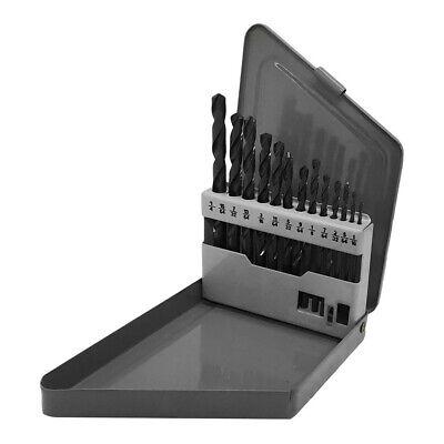 13 Pc Hss 116- 14 By 64ths Jobber Drill Set Metal Index Straight Shank Drill