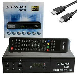 STROM-509-Full-HDTV-digitale-ricevitore-Satellitare-IPTV-xream-STALKER-LAN-USB