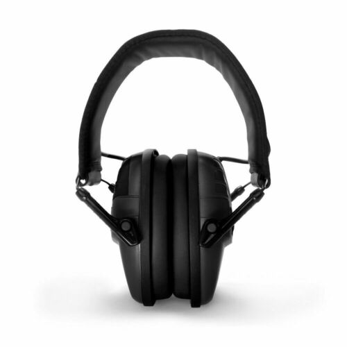 US Black Foldable Reduce Sound Hearing Protection Ear Muffs Sound Amplification