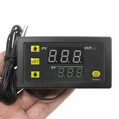 220v Digital Temperature Controller Thermostat Regulator Sensor W3230 Sv