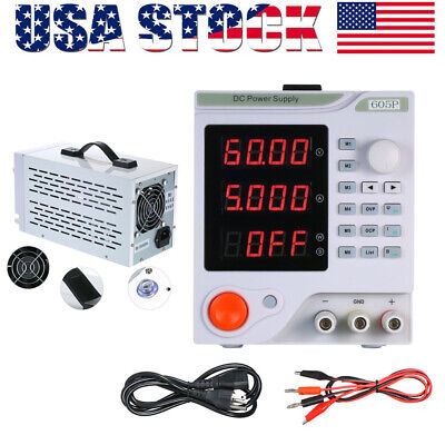 0-60v 0-5a Programmable Variable Adjustable 4 Digits Led Dc Power Supply H5f0