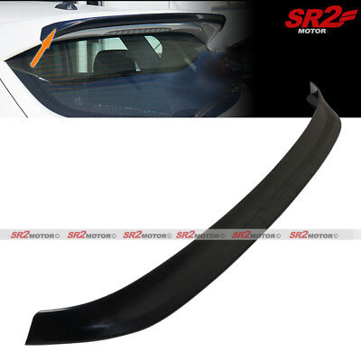 Add-on Rear Roof Spoiler Extension MS-style Wing for 2010-2013 Mazda 3 Hatchback