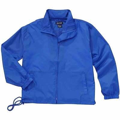River's End Full-Zip Nylon Anorak  Athletic   Outerwear - Blue - Mens Full Zip Windbreaker