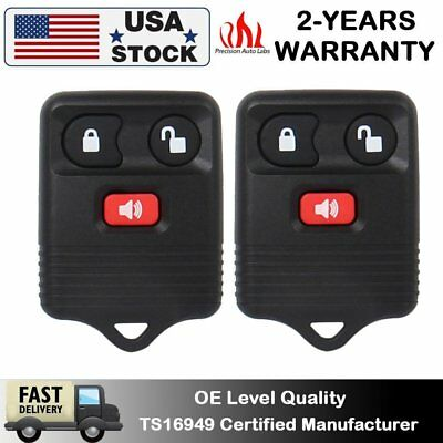 2PCS Car Key Fob Keyless Entry Remote Control Replacement For Ford F150 F-250 US