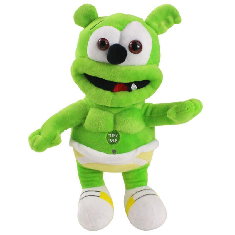 Singing I AM A GUMMY BEAR Musical Gummibar Plush Dolls 12″ Teddy Toys Kids Gift Action Figures