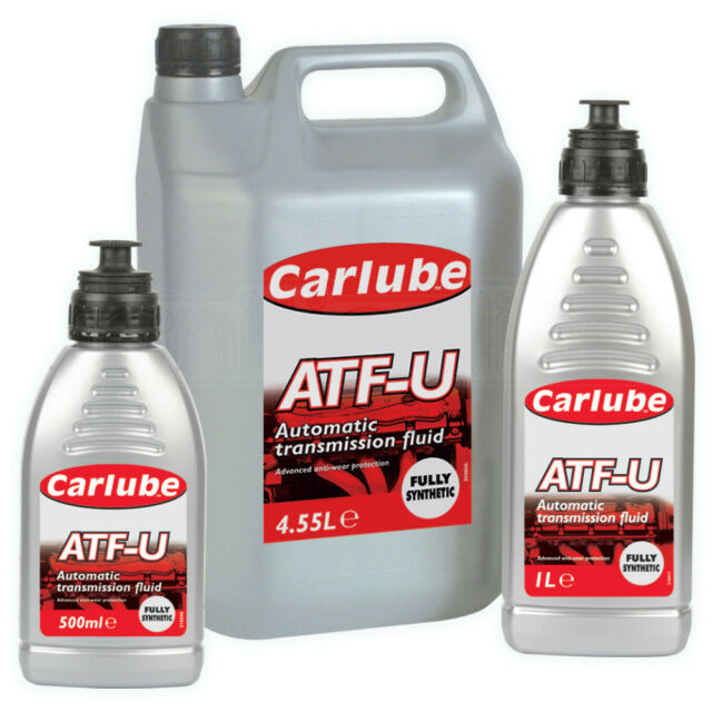 Carlube ATF-U Synthetic Automatic Transmission Gearbox Steering Fluid 4.55 Litre