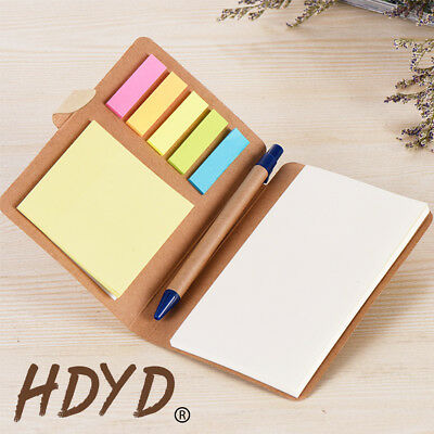 Notebook Journal Diary Book Office Notepad Student Drawing Memo Paper with Pen