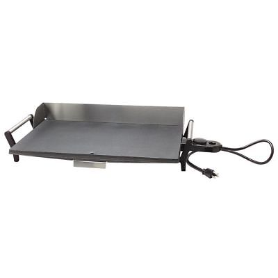 Cadco Griddle Stainless Steel Portable Light-duty Electric - 29l X 12 12w X 5