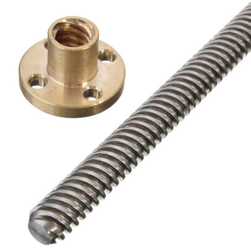 M2x250 mm entièrement tige fileté acier inoxydable 304 Filetage droit