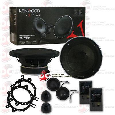 KENWOOD XR-1700P 6.5-INCH CAR AUDIO COMPONENT SPEAKER SYSTEM (PAIR) ()