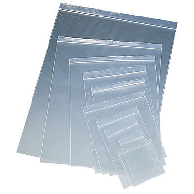 1000 - 3 X 5 Zip Lock 3x5 Recloseable Clear Plastic Bags 2 Mil