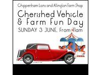 Cherished Vehicle and Farm Fun Day