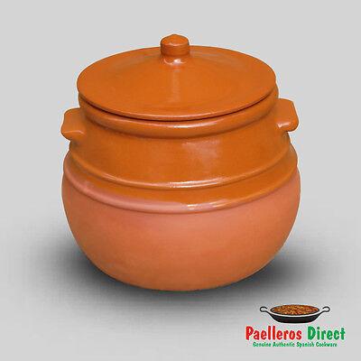 Spanish Terracotta Stew Pot / Soup Tureen / Puchero - 3.5 Litre