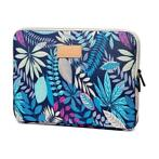 Just in Case Blossom MacBook Air/Pro Sleeve 13 inch - Blauw