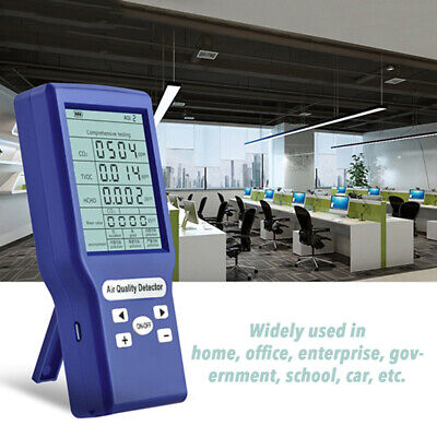 Co2 Meters Carbon Dioxide Detector Gas Analyzer Protable Air Quality Tester