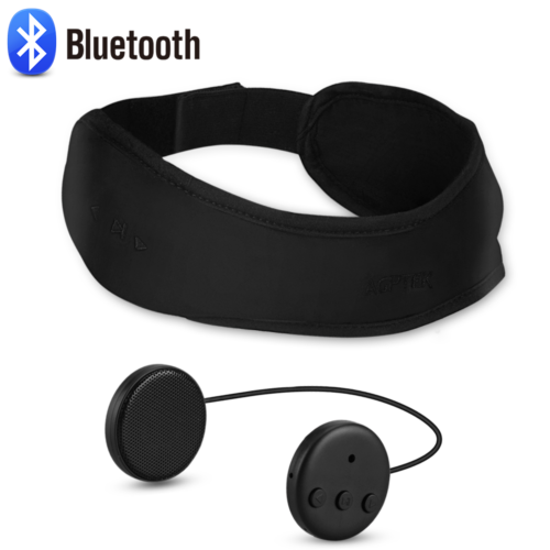 AGPTEK Sleep Headphones Bluetooth Headband Wireless with Det