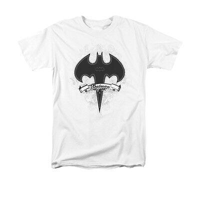 BATMAN GOTHIC GOTHAM  T SHIRT  DC comics superhero graphic 100% cotton tee - Goth Superhero