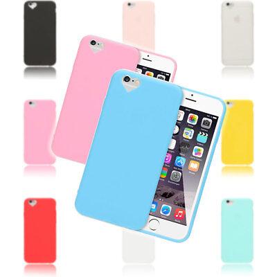 NALIA Handy Hülle für iPhone 6 Plus 6S Plus, Herz Silikon Case Cover Schutzhülle