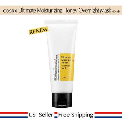 COSRX Ultimate Moisturizing Honey Overnight Mask 60ml +FreeSample RENEW USSeller