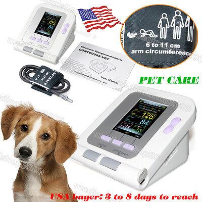 Vet Veterinary Oled Digital Blood Pressure Heart Beat Monitor Nibp For Pets