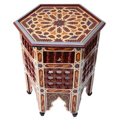 Orientalischer Tisch moroccan table orientale Arabischer Teetisch BTM_B3 H53