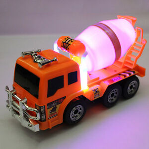 1: 22 Kids Large Truck Cement Mixer Inertia Kid Toy Car Non-Remote Controlled