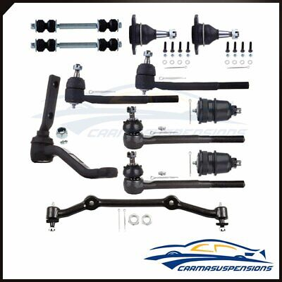 12 For 83-95 Chevrolet Blazer S10 GMC Jimmy 2WD Front Ball Joint Suspension Kit
