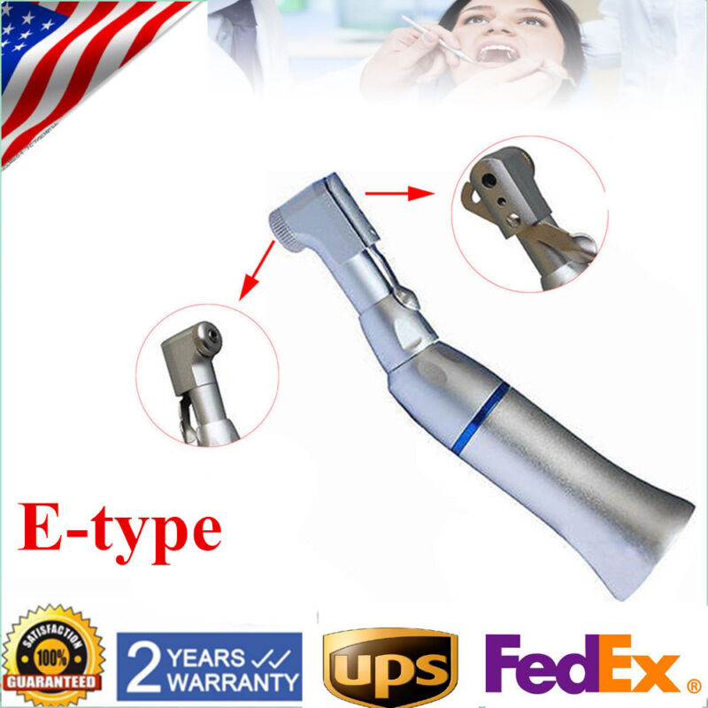 NSK Type Handpiece Dental Slow Low Speed Handpiece Contra Angle E-Type Connector
