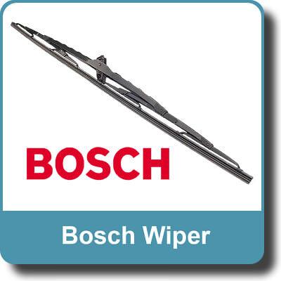 Bosch Wiper Blades Front Pair PORSCHE 911 08.82-07.89