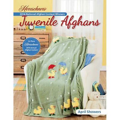 Brand new, Herrschners 3 Crochet/1 Knit Afghan Patterns 'Juvenile Afghans'