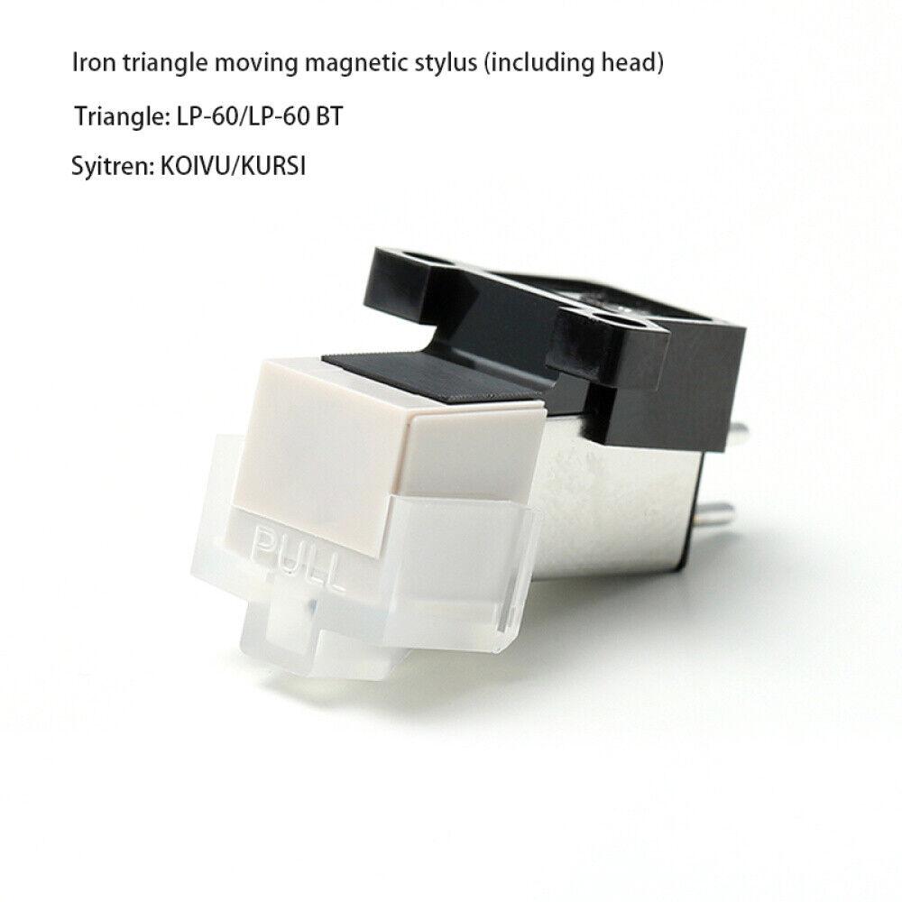 Audio-Technica Magnetic Cartridge LP Vinyl Phono Turntable Record Player Stylus