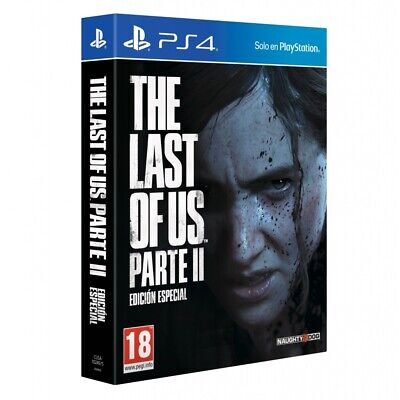 THE LAST OF US PARTE II PS4 EDICIÓN ESPECIAL JUEGO FÍSICO PARA PLAYSTATION 4