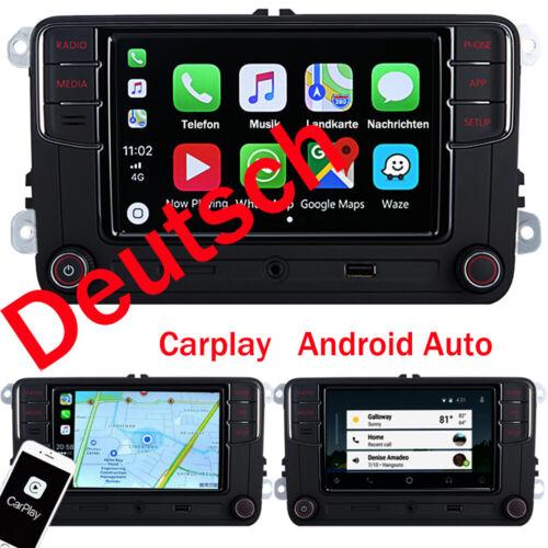 Deutsch Autoradio RCD330+ Carplay Android Auto BT Für VW Golf 5 6 Passat Polo CC