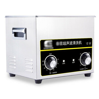 Ultrasonic Cleaner 15l Stainless Steel Industry Heated Heater Tank Timer