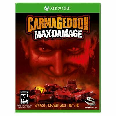 Carmageddon: Max Damage (XB1, Xbox One, 2016) NEW