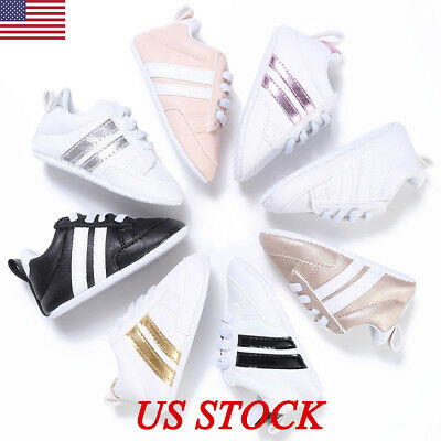 0-18M Baby Shoes Boy Girl Newborn Soft Soles Leather Crib Soft Sole Shoe Sneaker