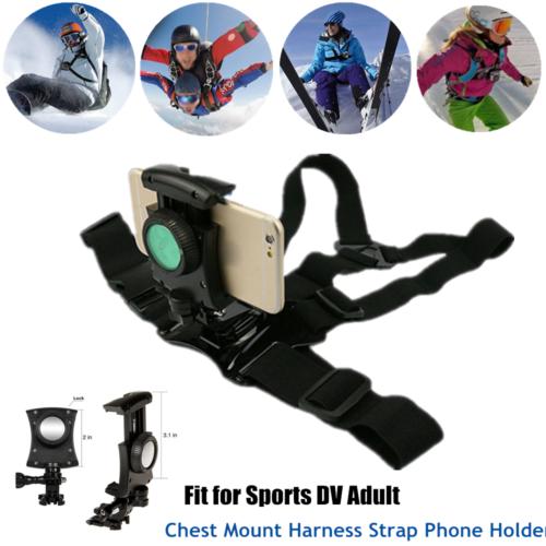 adjustable harness chest body strap mount belt