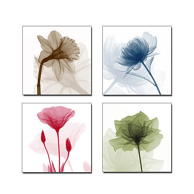 Modern Floral Canvas Print Painting Picture Poster Wall Art Home Decor Framed