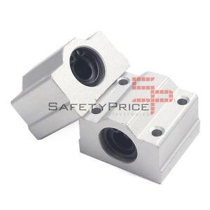 SC8UU-Cojinete-Soporte-8mm-Lineal-Rail-Eje-Barra-LM8UU-CNC-Impresora-3D-SP