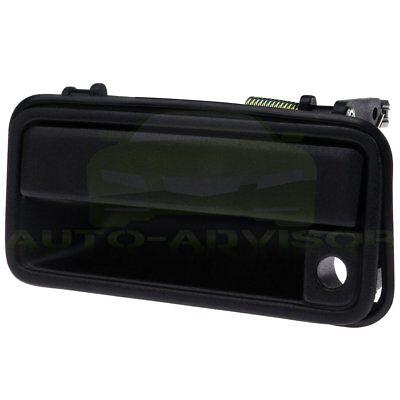 New All Metal Door Handle Textured Black Front Left for Chevy Suburban GM1310132